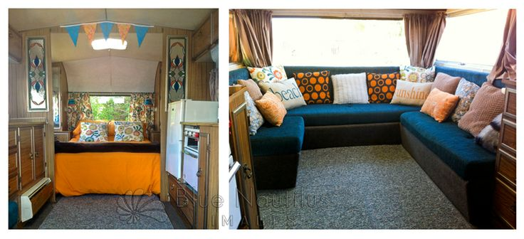 A little update of the decor of my 1970's retro caravan - Clementine.