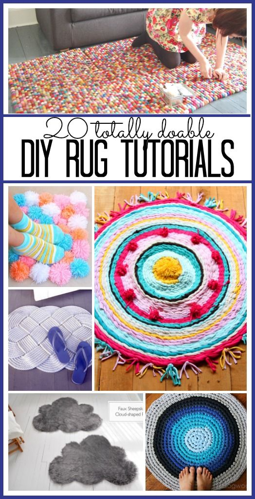 20 DIY Rug Tutorials