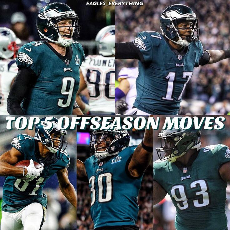 Now that the season is officially over lets go look at the Eagles best offseason moves of last year. And btw theres a lot of them. -  1. Signing Nick Foles Does this one need any explanation? Howie Roseman went out and signed the Super Bowl MVP for nothing. Now the Eagles might be able to get at least a 2nd round pick for him if they decide to trade him. 2. Signing Alshon Jeffery The Eagles brought in Jeffery on a 1 year prove it deal. The Eagles saw enough and they extended him for 4 years…