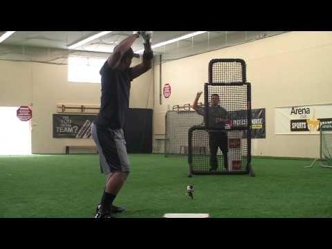 Ripken Baseball Hitting Tip - Elevated Front Toss
