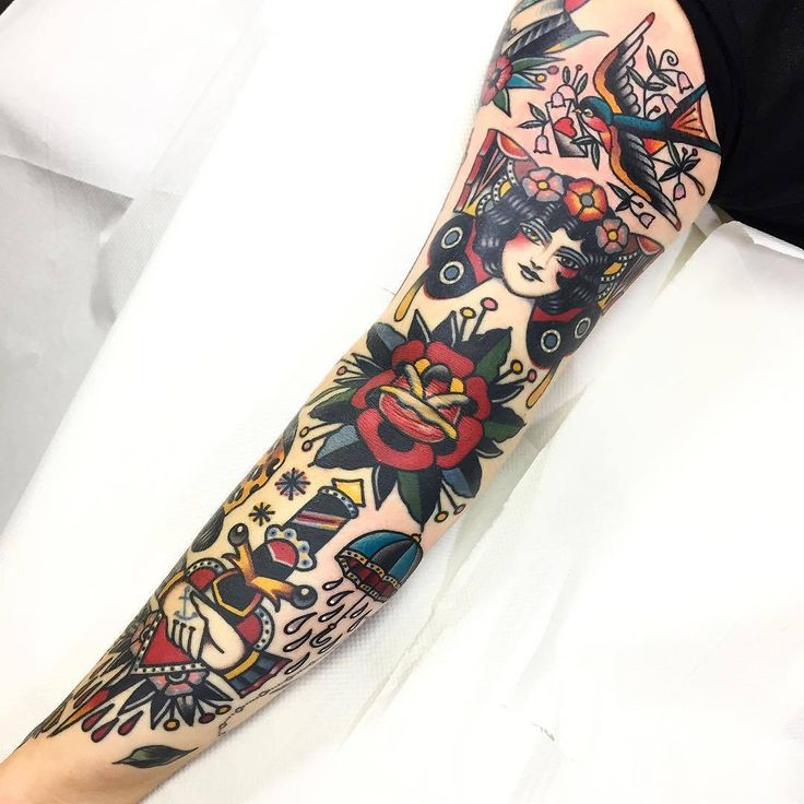 Done by Dani Queipo (@daniqueipo) at Seven Doors Tattoo, London