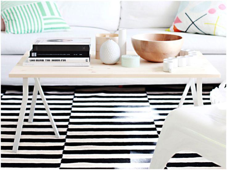 DIY: COFFEE TABLE Legs from Ikea