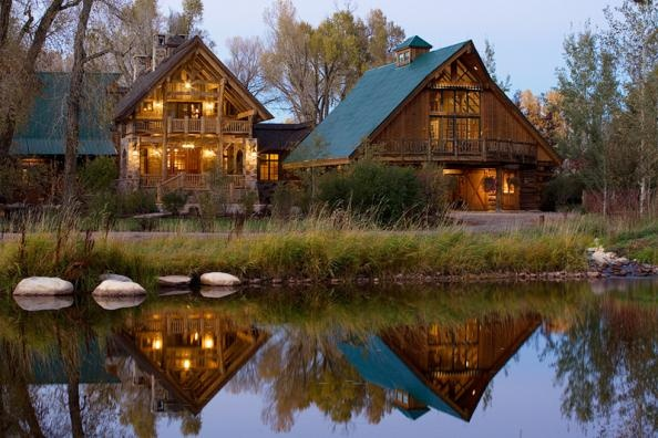 Dust at Two Rivers Ranch. #rustic. #mountain home #cabin: Ski, Cabin, Dreams Home, Green Roof, Dreams House, Rivers T-Shirt, Rivers Ranch, Steamboat Spring, Mountain Homes