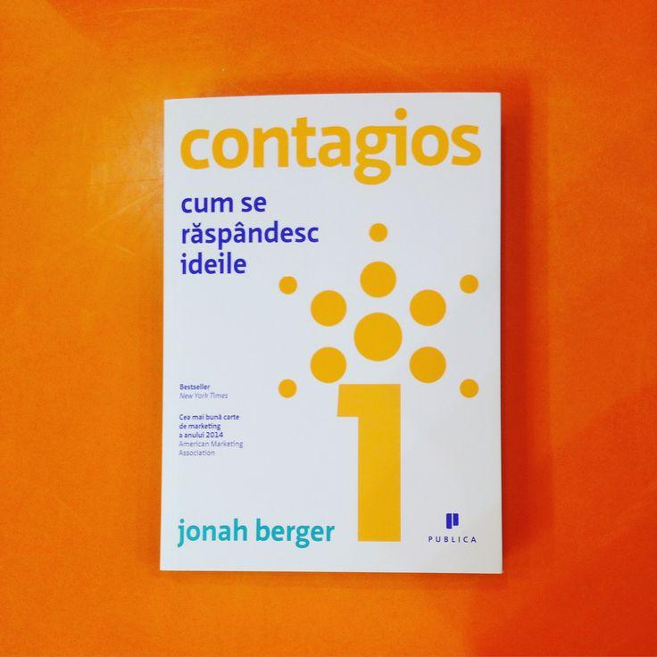 Cum se răspândesc ideile - o carte recomandată în special strategilor și oamenilor de comunicare, dar și antreprenorilor. #contagious #editurapublica