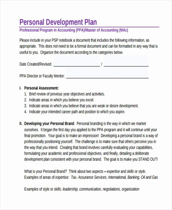 Professional Development Plan For Teachers Examples