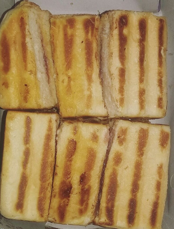 Toasted Bread with Blueberry Flavor