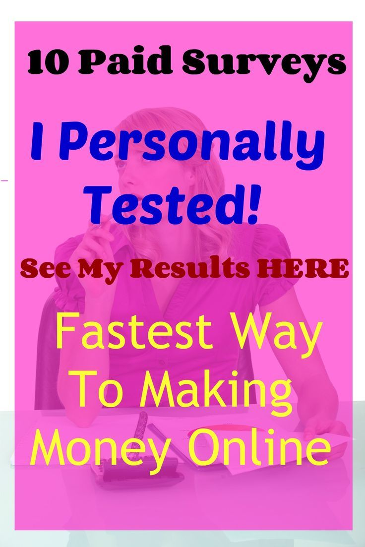 Check out how surveys can earn money extra cash and help you increase your income. Paid surveys are legit but please read this guide so that you pick only the best paid surveys! I have personally tested these paid survey sites and I show step-by-step which survey sites you can earn extra money from! The fastest way to make money online !