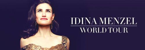 Idina Menzel Announces 2015 World Tour #idinamenzel