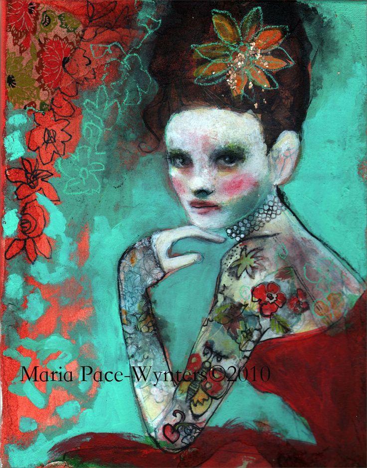 48 Beste Afbeeldingen Over Art Artist Maria Pace