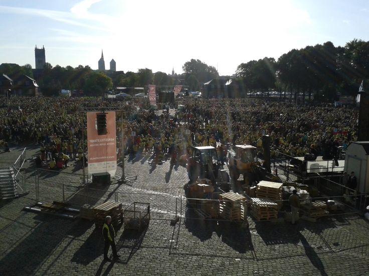 Woche der Wiederbelebung - Weltrekord in Münster