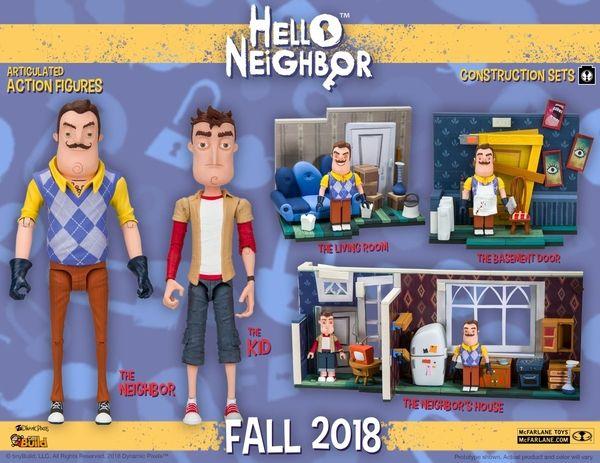 McFarlane Toys Hello Neighbor The Neighbor Action Figure