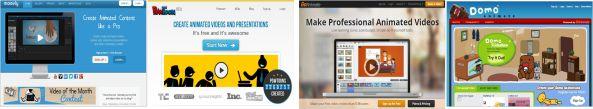 Tres increíbles sitios para crear presentaciones animadas en línea
