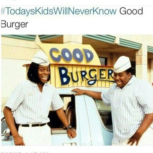 Welcome to Good Burger. Home of the good Burger. Can I take your order? @Mint_Confetti