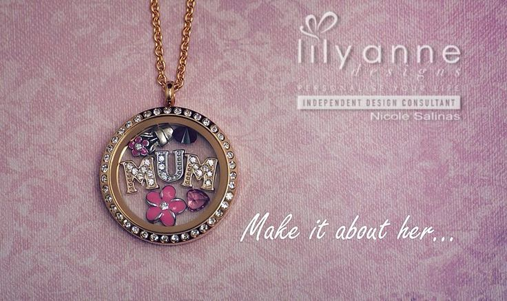 Lily Anne Personalised Lockets on Locl