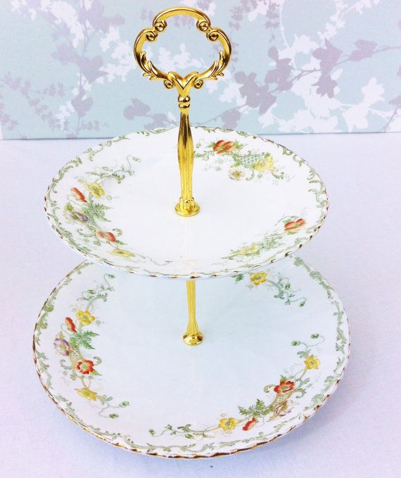 Hand Painted Cake Stands