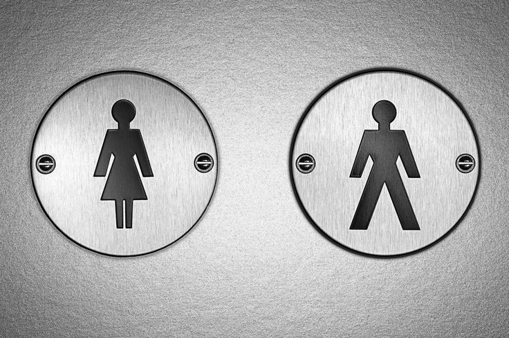 17 best ideas about gender neutral bathroom signs on for Against gender neutral bathrooms