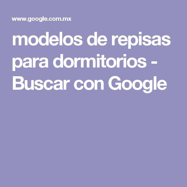 modelos de repisas para dormitorios - Buscar con Google