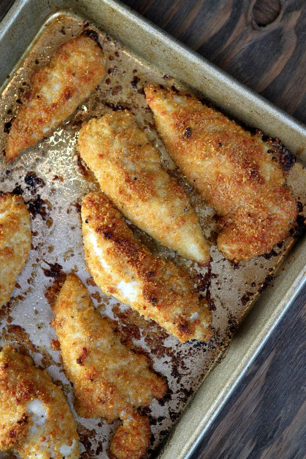 Easy Baked Parmesan Chicken Tenders Recipe Best Easy