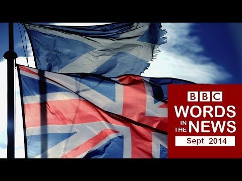 BBC Words in the News 14/09 with transcript video - Scotland votes 'No'; Walk or cycle for 'a happier commute'; Ozone layer 'recovering'