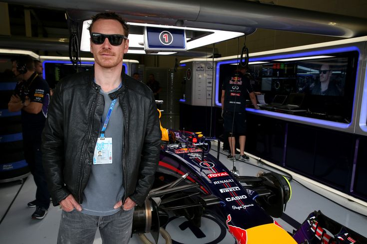 Michael Fassbender Photos: F1 Grand Prix of Great Britain - Qualifying