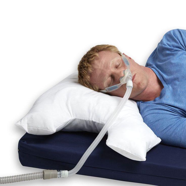 Hermell Breatheasy Cpap Sleep Apnea Pillow (White) (Cotton)