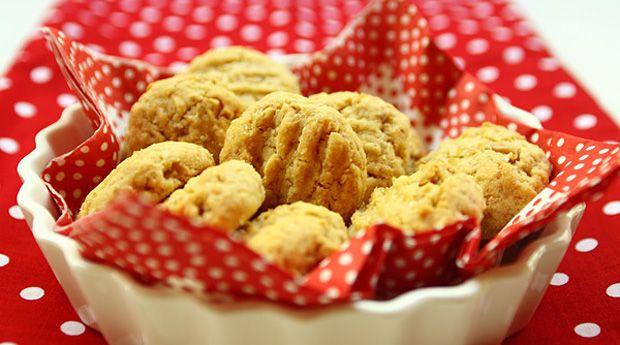 Édes-sós földimogyorós keksz