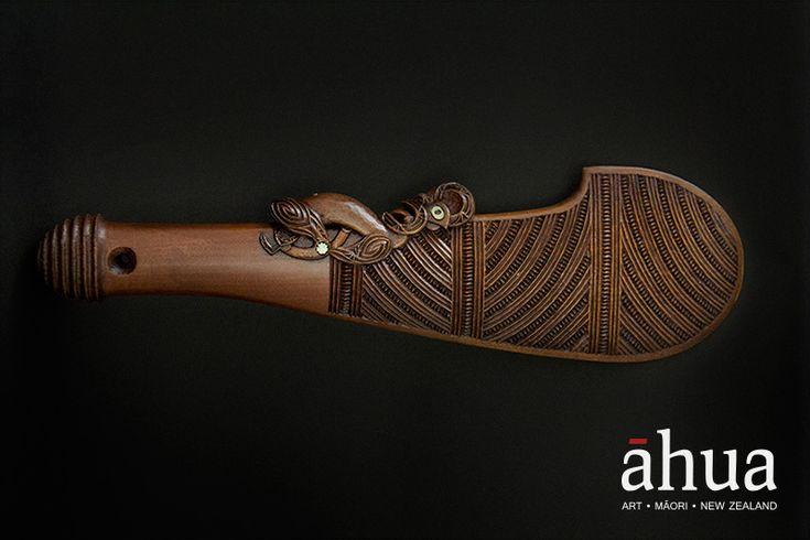 Искусство маори из страны Белого Длинного Облака - Работа как удовольствие