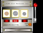Coins - coins to 50p spin in the machine - could use for an 'I see' activity