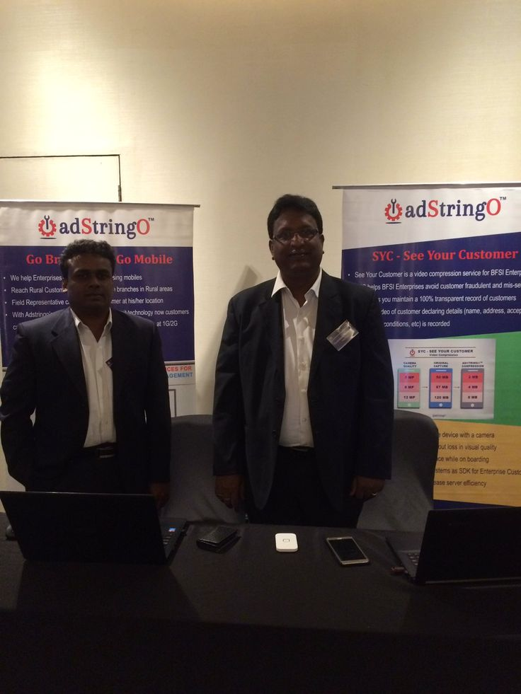 Team adStringO Software Pvt. Ltd., Mr. Govindarajan Narayanan & Mr. Martin Prabhu at CIO Crown Event 2016 at Courtyard Marriot, Mumbai. Come meet our team & know more about World's Fastest Endpoint Compression. Also meet top CIO's at the event & have a chance to interact with them.