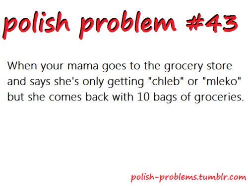 POLISH PROBLEMS