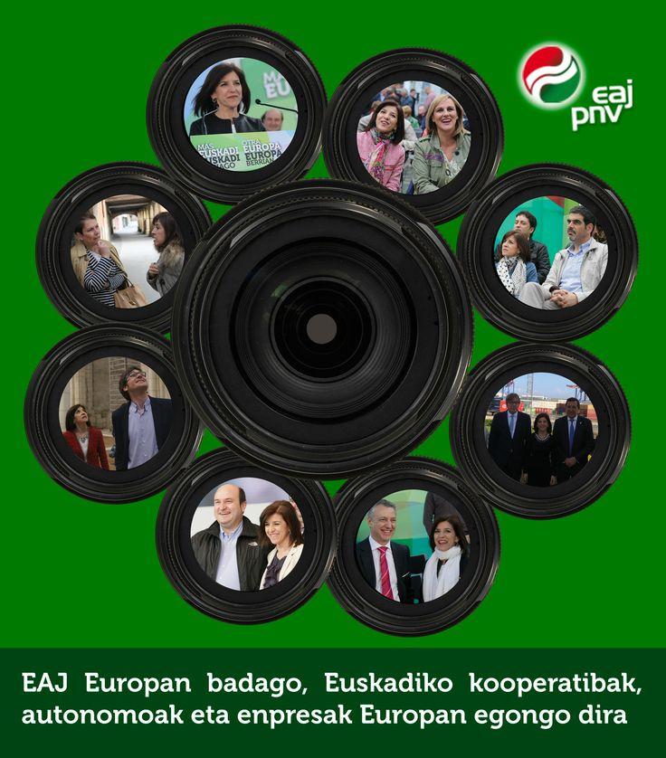 """Izaskun Bilbao: """"EAJ Europan badago, Euskadiko kooperatibak, autonomoak eta enpresak Europan egongo dira""""."""