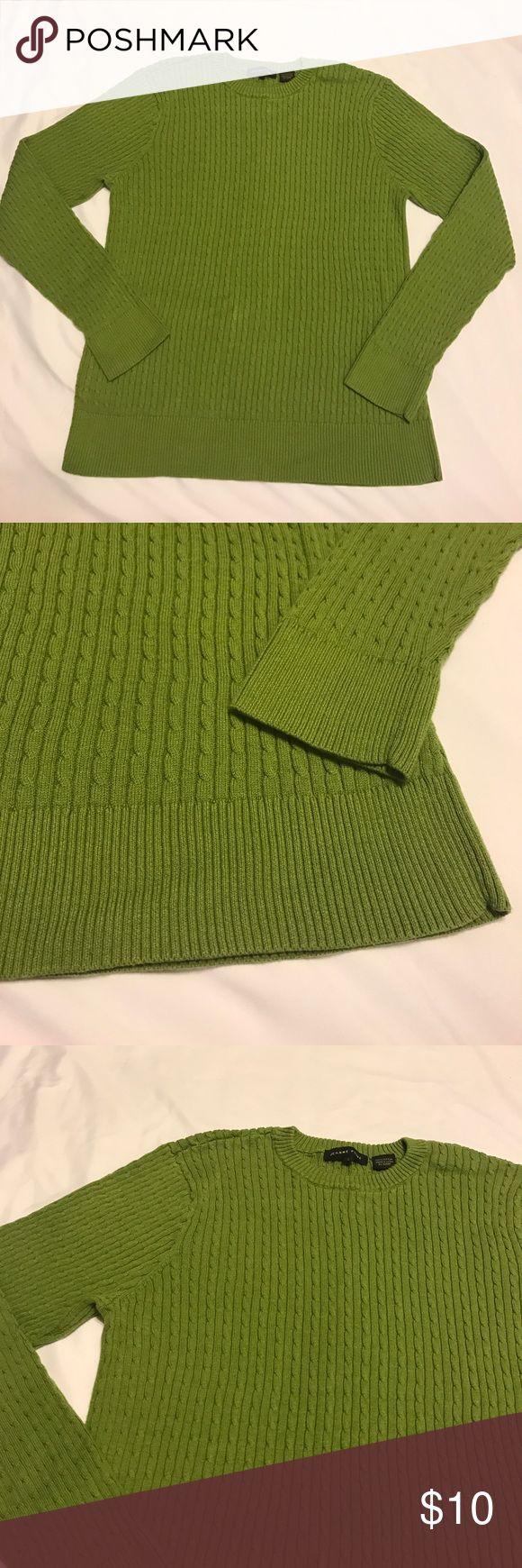 Jeanne Pierre sweater size large Great condition.... made by Jeanne Pierre... size large...100% cotton jeanne pierre Sweaters