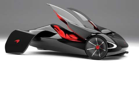 Winged Concept Cars : McLaren JetSet