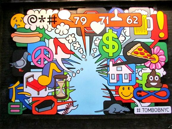 Where to find street art in Manhattan,NOLITA, NYC
