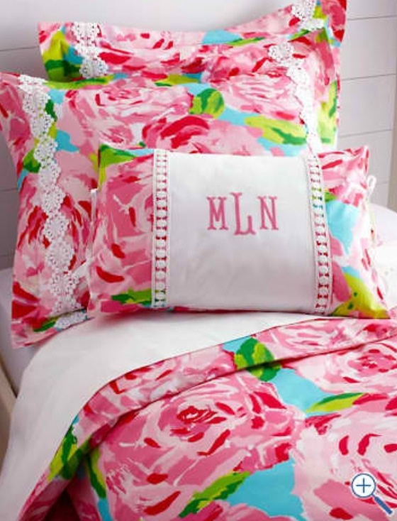 Lilly Pulitzer Garnet Hill Bedding Apartment