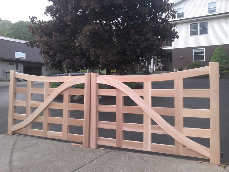 38 Best Images About Cedar Driveway And Entranceway Gates