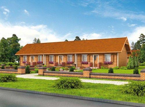 Projekt domu PT TORONTO 2 CAŁOROCZNY SZKIELET DREWNIANY - DOM PD3-12 - gotowy projekt domu