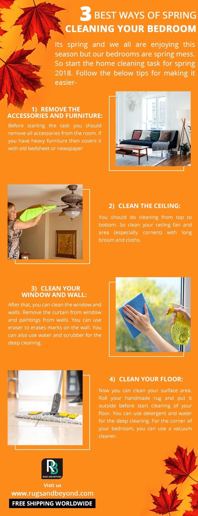 3 Best Ways of Spring Cleaning your Bedroom .#rugsandbeyond #rugsnotdrugs #design #tuesday #shopnow #colorful #designerrugs #bestrugsonline #livingroomgoals #madeinindia #maisondobjet #bloggers #bluerug #coupon #discount #modernrugs #contemporaryrugs #hpmkt #handmade #hallway #interiorlove #interiorinspo #interiordesign #inspiration #interiors #homedecoration #homedecor #process #womenentrepreneurs #sakshitalwar #womeninbusiness #shopnow