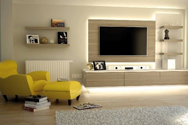 big tv | Build the perfect family room with this simple tips - see more at http://livingroomideas.eu/build-perfect-family-room-simple-tips