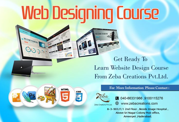 Great ‪#‎Webdesign‬ without ‪#‎functionality‬ is like a sports car with no ‪#‎engine‬. Zeba Creations Providing Digital Marketing & Web Designing Courses in ‪#‎Ameerpet‬. http://www.zebacreations.com
