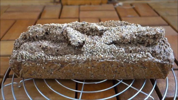 Лесен и здравословен хляб от лимец без месене и мая