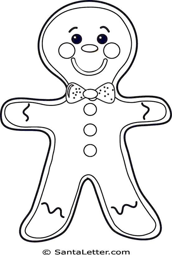 Best 20+ Gingerbread Man Coloring Page Ideas On Pinterest