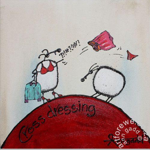 Cross Dressing | ::Art for Ewe::::Art for Ewe::