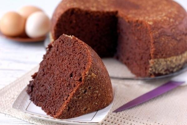 Рецепт Бисквит шоколадный в мультиварке - allWomens