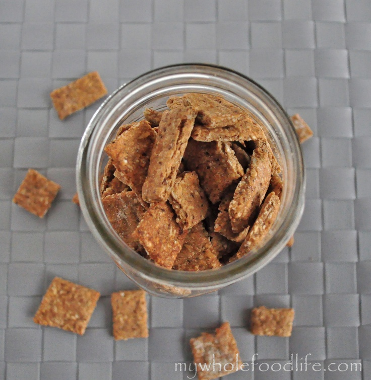 Healthy Toddler Crackers that your kids will love!  Make these in place of animal crackers.