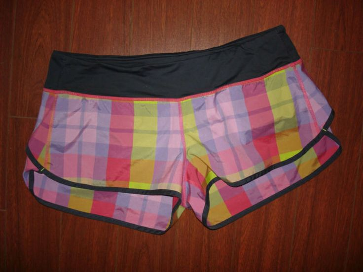 8d03fe1af6 Speed shorts in passion pink lime foxy plaid size lululemon shorts  pinterest limes plaid and colors