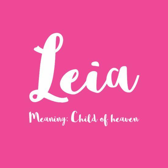 Leia - Simply Adorable Hawaiian Baby Names for Girls - Photos