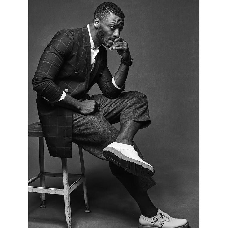 """""""It's crazy how intelligent kids can be at a very young age...everything I did has materialized into something substantial for me today."""" Catch actor artist and horologist @aldis_hodge in the new #WGNAmerica drama #Underground.  @danibrubaker_ Styling @daniandemmastyle. Hair and grooming @heyannabee by interviewmag"""