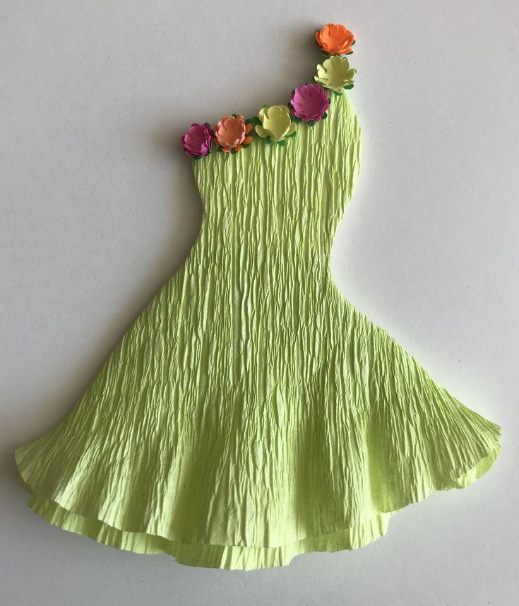 самое домашнее, платье для весны из бумаги поделки картинки сети появилось несколько
