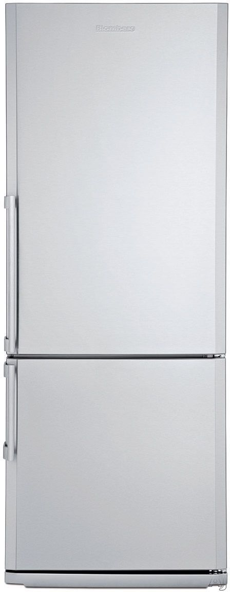 Counter Depth Bottom Freezer Refrigerator With 3 Glass Shelves, 2 Produce  Drawers, Antibacterial Interior, Reversible Door And Energy Star Certified